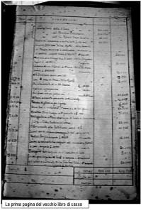 belgatto-I pagina libro contabile