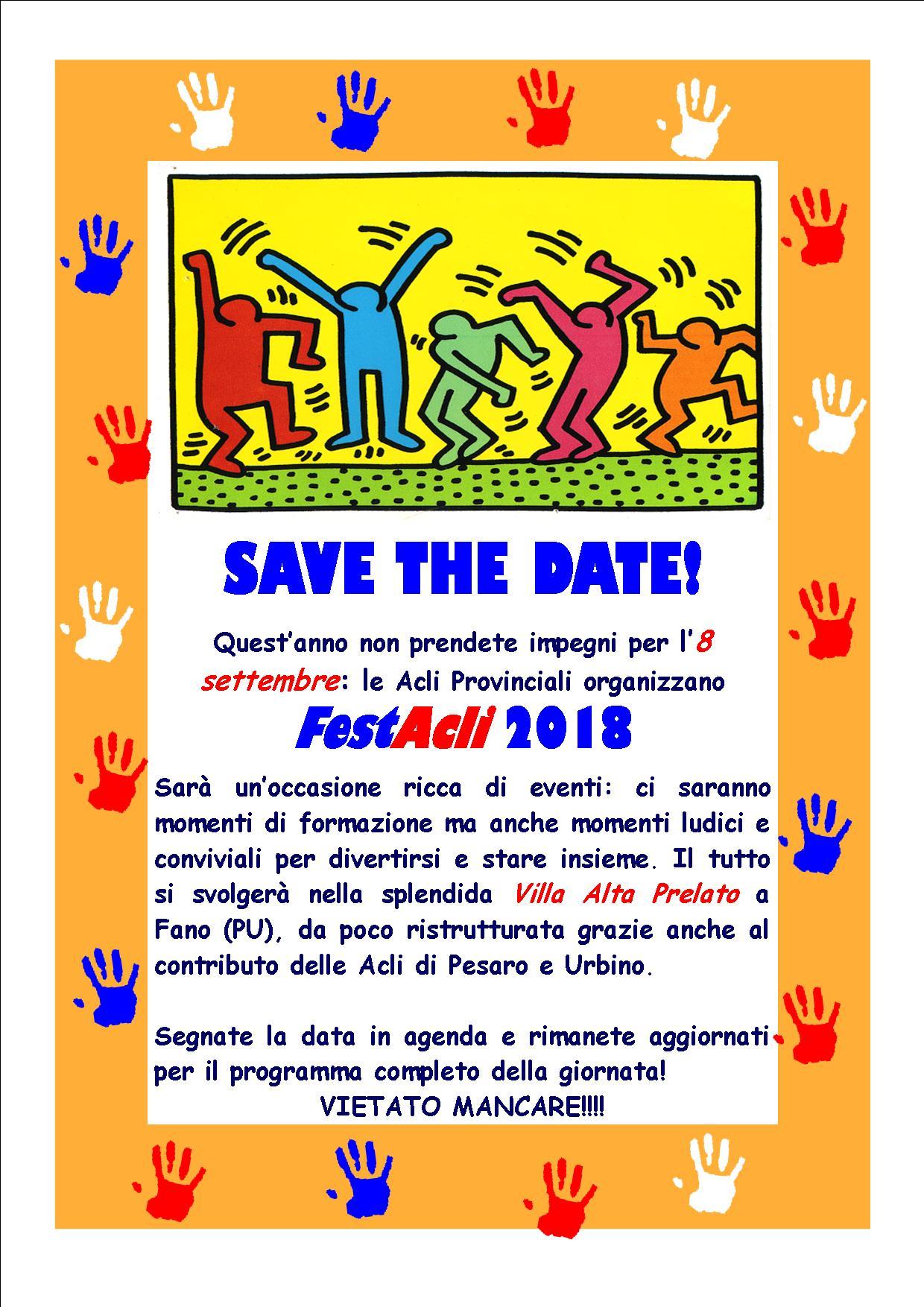 Volantino FestAcli 2018 immagine